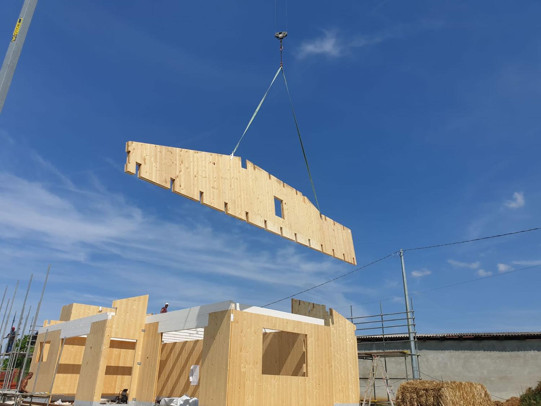 Pannelli Legno Senza Formaldeide l'uso del clt in edilizia | case in x-lam (clt) | azienda